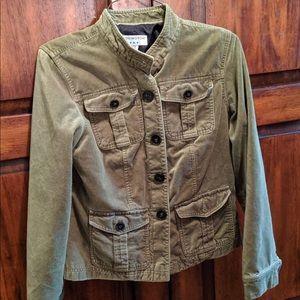 Covington Woman's Green Jacket - Military Style S